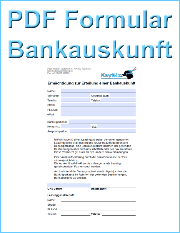 Keybiz Neukunden PDF